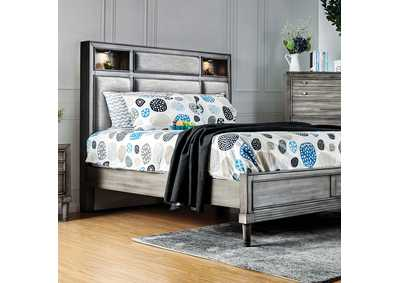 Daphne Gray California King Bed