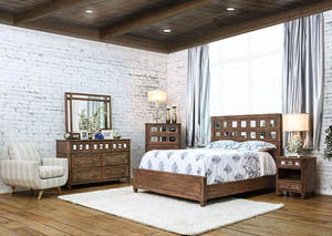 Image for Frontera Rustic Oak California King Bed