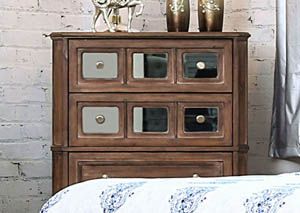 Image for Frontera Rustic Oak Chest
