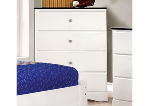 Kimmel Blue & White Drawer Chest