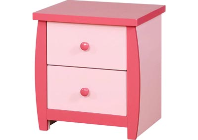 Image for Marlee Pink Nightstand