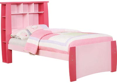 Marlee Pink Twin Bed