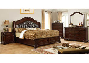 Edinburgh Brown Cherry Dresser w/Mirror