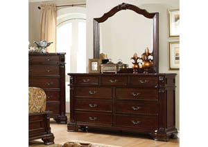 Edinburgh Brown Cherry Dresser