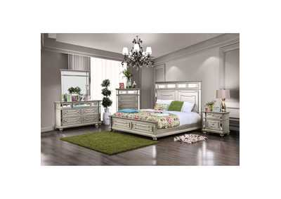 Salamanca Champagne Queen Panel Bed