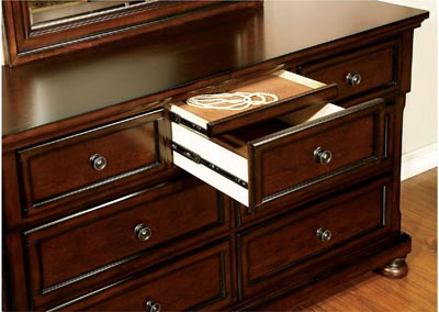Northville Dark Cherry Dresser
