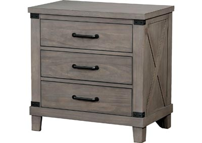 Bianca Gray Nightstand