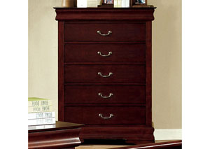 Louis Philippe II Cherry Chest