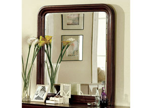 Louis Philippe II Cherry Mirror