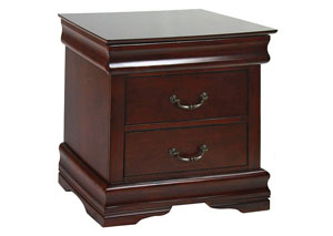 Louis Philippe II Cherry Nightstand