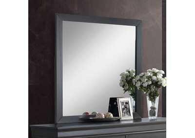Louis Philippe III Gray Mirror