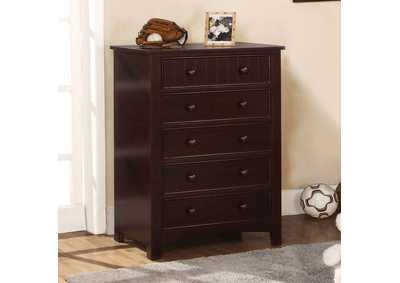 Omnus Dark Walnut Drawer Chest