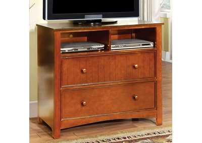 Omnus Oak Media Chest