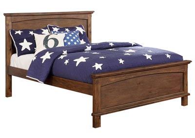 Colin Dark Oak Full Bed