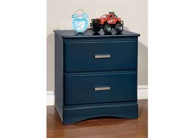 Image for Prismo Blue Nightstand