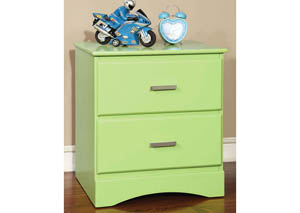 Image for Prismo Green Nightstand