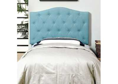 Alipaz Blue Twin Headboard