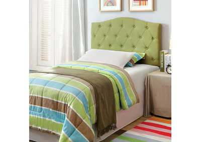 Alipaz Green Twin Headboard