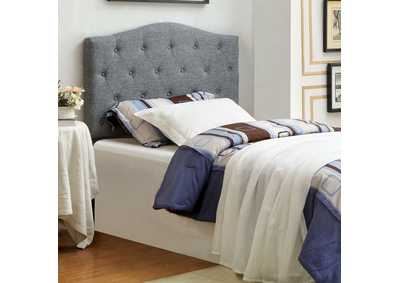 Image for Alipaz Grey Queen Headboard