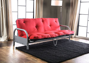 Askel Black/Red Futon Mattress