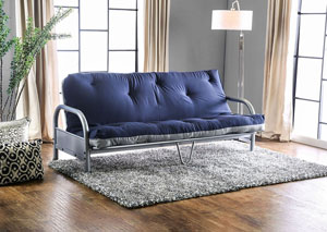 Askel Navy/Gray Futon Mattress