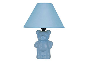 Gumi Blue Bear Theme Table Lamp (8/Ctn)
