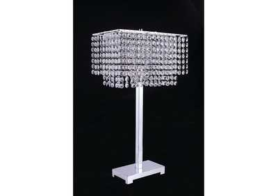 Image for Rena Faux Diamond Crystal Table Lamp