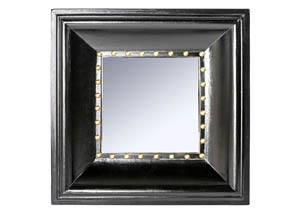 Dagny Black Wall Mirror