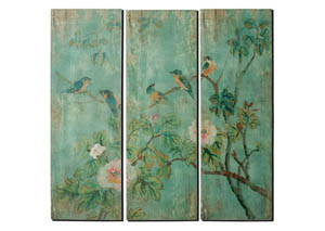 Ingvar Green Wall Art (Set of 2)