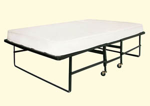 Framos Rollaway Bed w/Quality Polyfiber Mattress