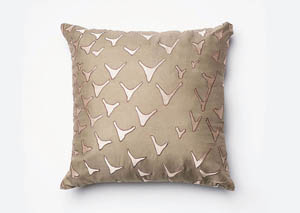 Britt Beige Pillow (Set of 4)