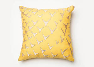 Britt Yellow Pillow
