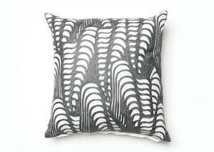 Avril White/Gray Pillow (Set of 4)