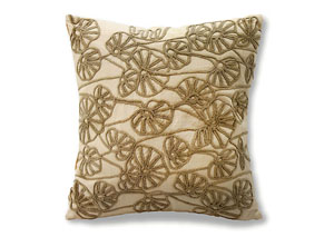 Ines Tan Pattern Pillow 18 x 20