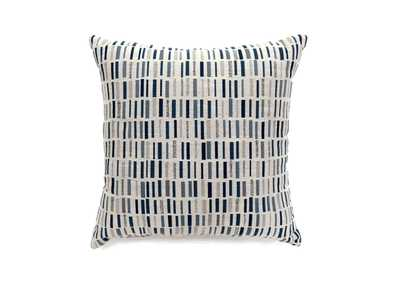 Pianno Blue Rectangle Pattern Pillow 22 x 22' (2/Ctn)