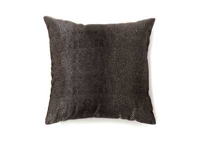 Image for Shale Black Textured Accent Pillow, 18 x 18' (Set of 2)