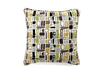 Bloc Multicolor Pillow 18 x 18' (2/Ctn)