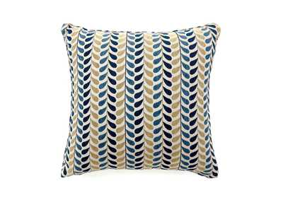 "Image for Dropp Blue & Yellow Pattern Pillow 22 x 22"" (Set of 2)"