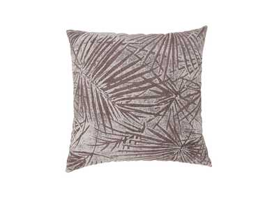 Olive Brown Large Throw Pillow (Set of 2)