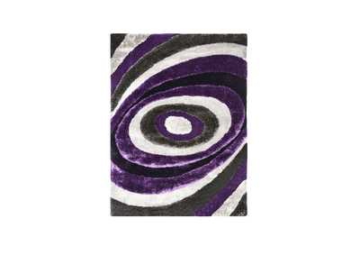 Winnipeg 5' X 7' Gray/Purple Area Rug