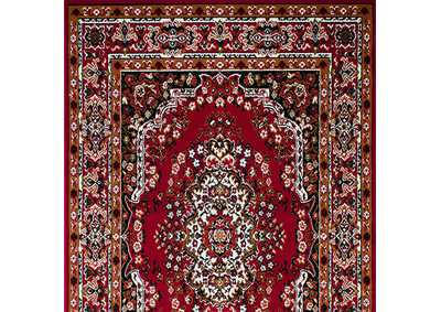 Shinta 5' X 8' Red Area Rug