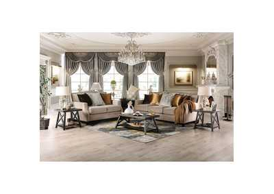 Image for Camilla Beige Sofa and Loveseat