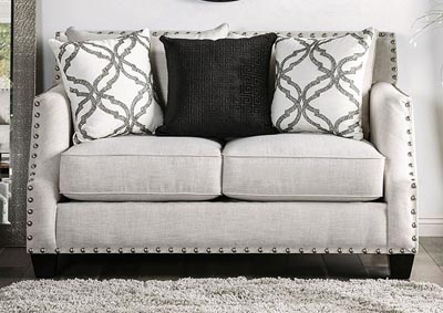 Image for Phoibe Gray Loveseat