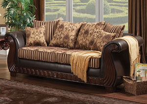 Rutherford Brown Sofa
