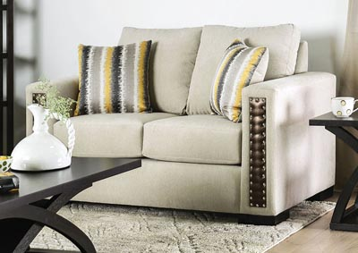Image for Chubbuck Beige Loveseat