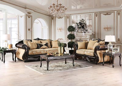 Image for Aislynn Gold Sofa and Loveseat