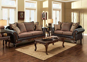 San Roque Sofa and Loveseat