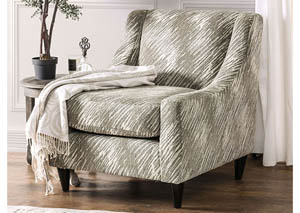 Stefano Light Mocha Pattern Chair