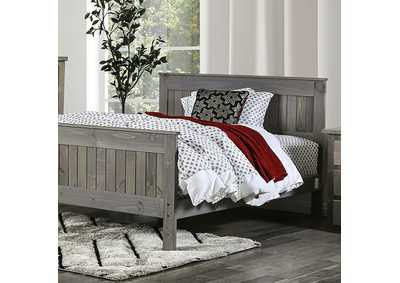Rockwall Grey Queen Bed
