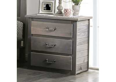 Rockwall Grey Night Stand